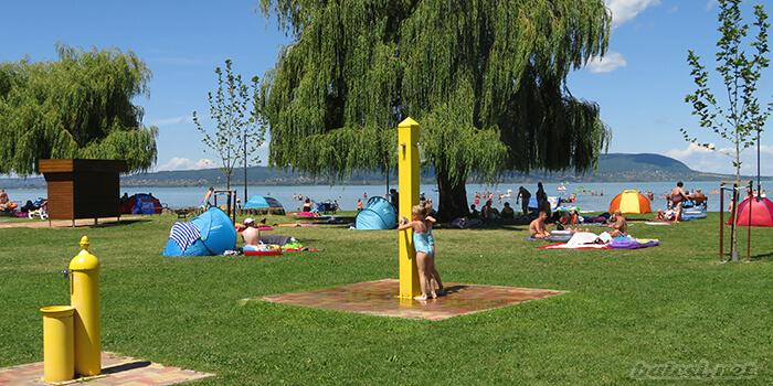 Balatonmariafurdo Strand Kepek Arak Belepo Terkep 2020